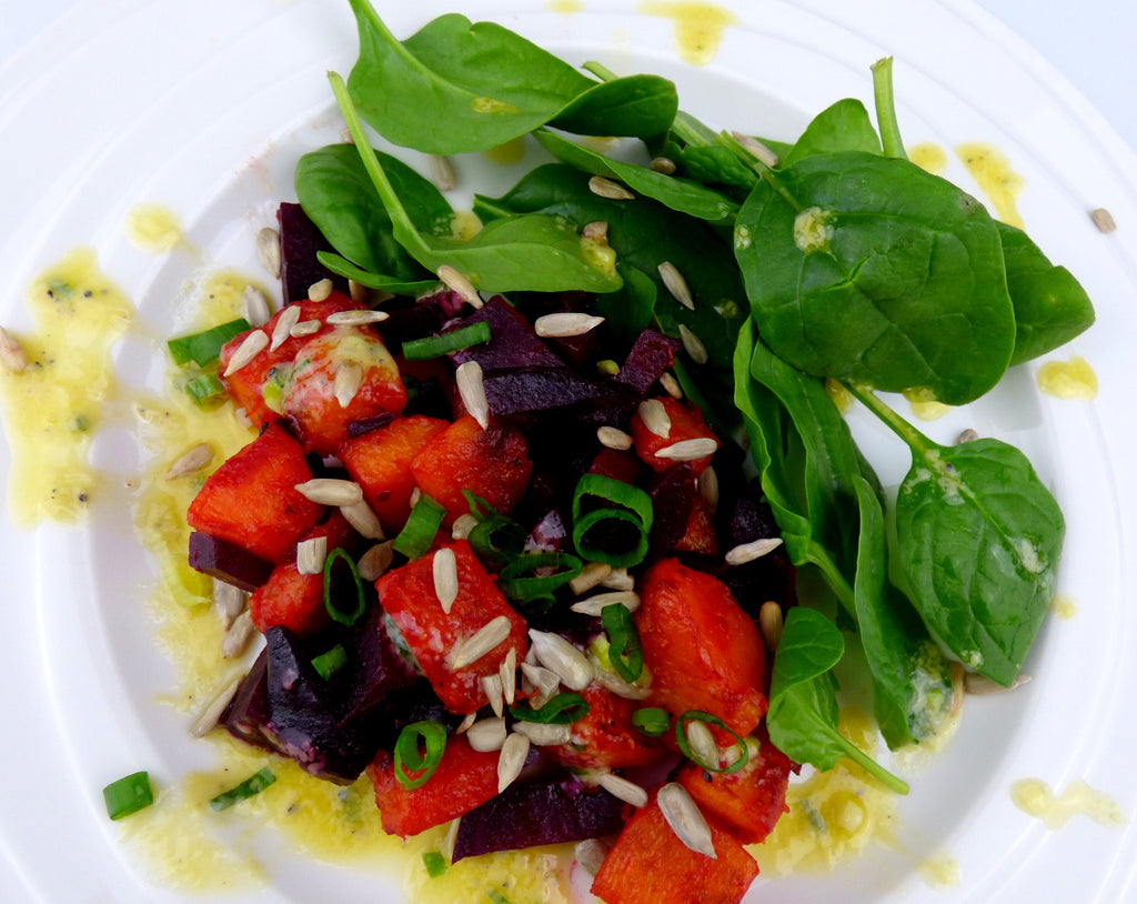 Beetroot & Pumpkin Salad