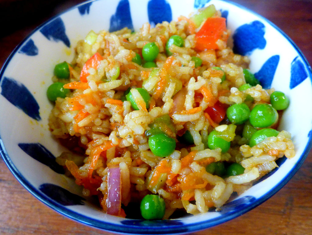 Spiced Rice Salad