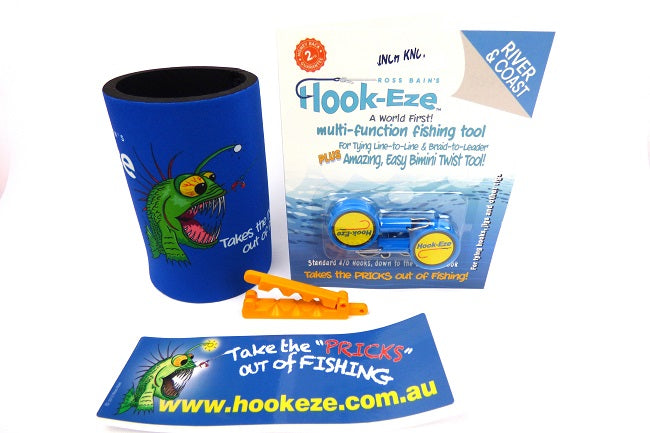 Hook-Eze Quick Knot Tying Tool Gift Pack - Just 4 Him