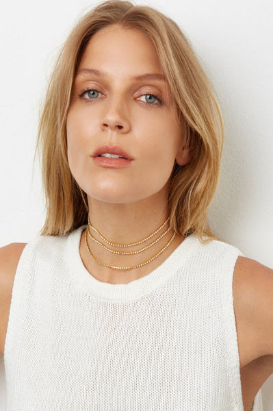 That's A Wrap Choker in Gold