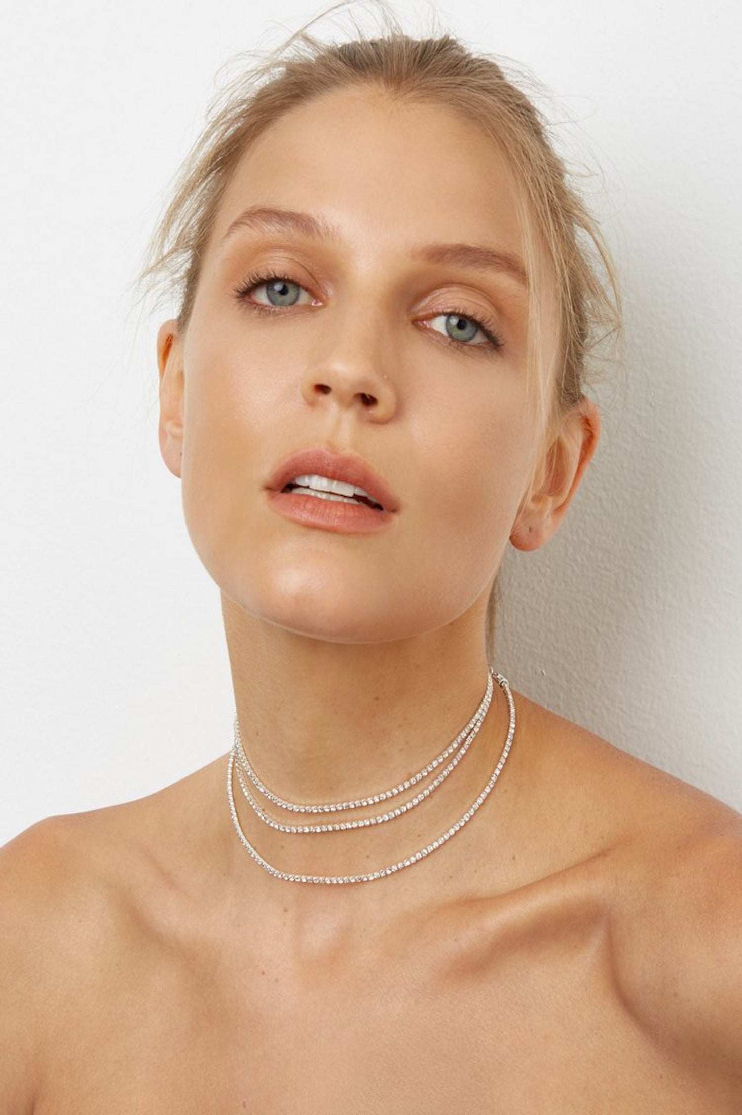 That's A Wrap Choker in Silver