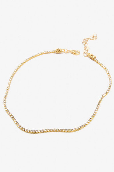 If You Had My Love Choker in Gold