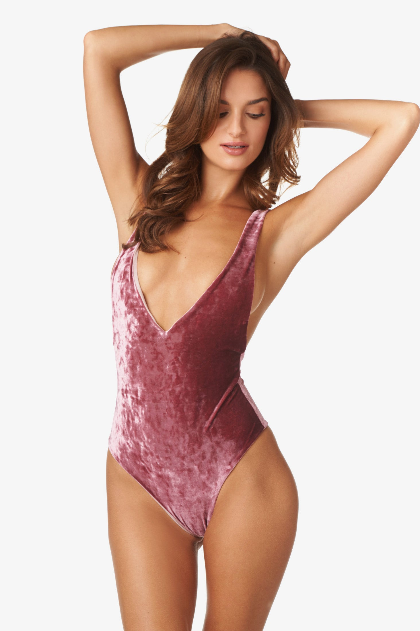 Franki One Piece in Rose Quartz