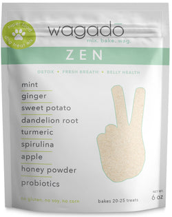 zen | superfood dog treat baking mix