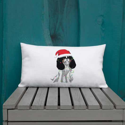 tri christmas cav | pillow