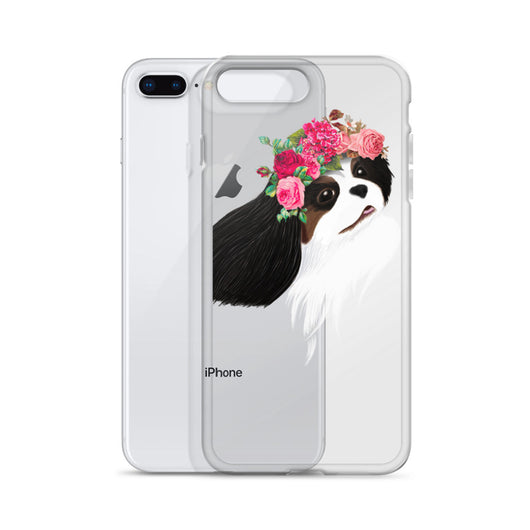 tri flower crown | iphone case