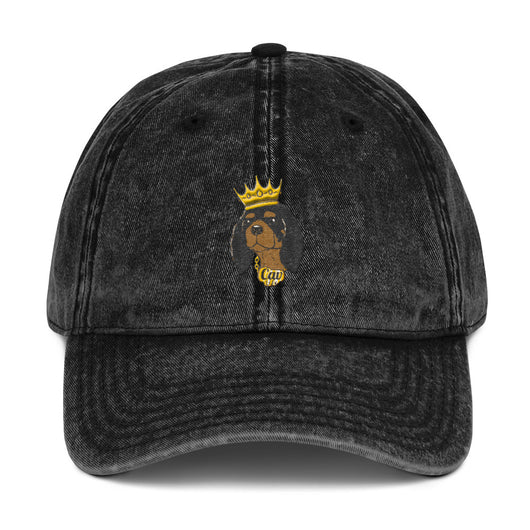 black & tan king | vintage dad hat