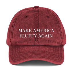 make america fluffy again | vintage dad hat
