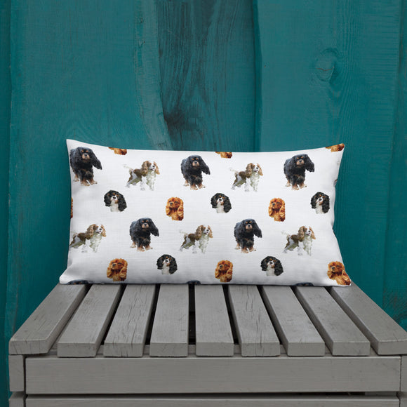 white cav party | pillow