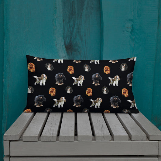 black cav party | pillow