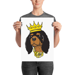 black & tan king | poster