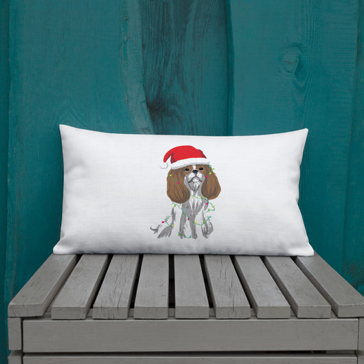 blenheim christmas cav | pillow