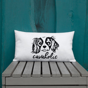 cavaholic | pillow