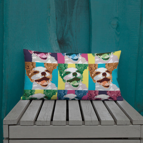 pop art cav | pillow