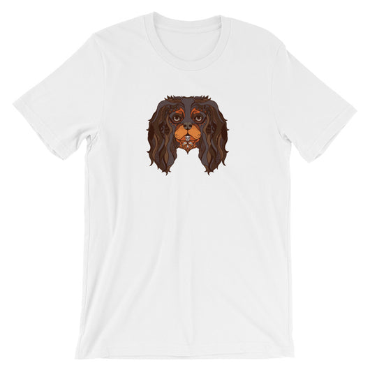 back & tan tattoo | unisex cavalier king charles spaniel t-shirt