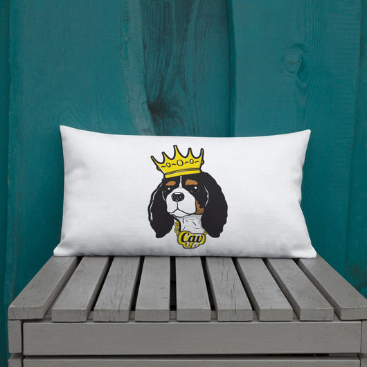 tri king | pillow