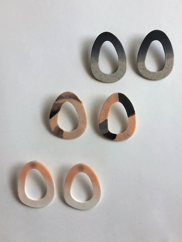 Etched Hoops