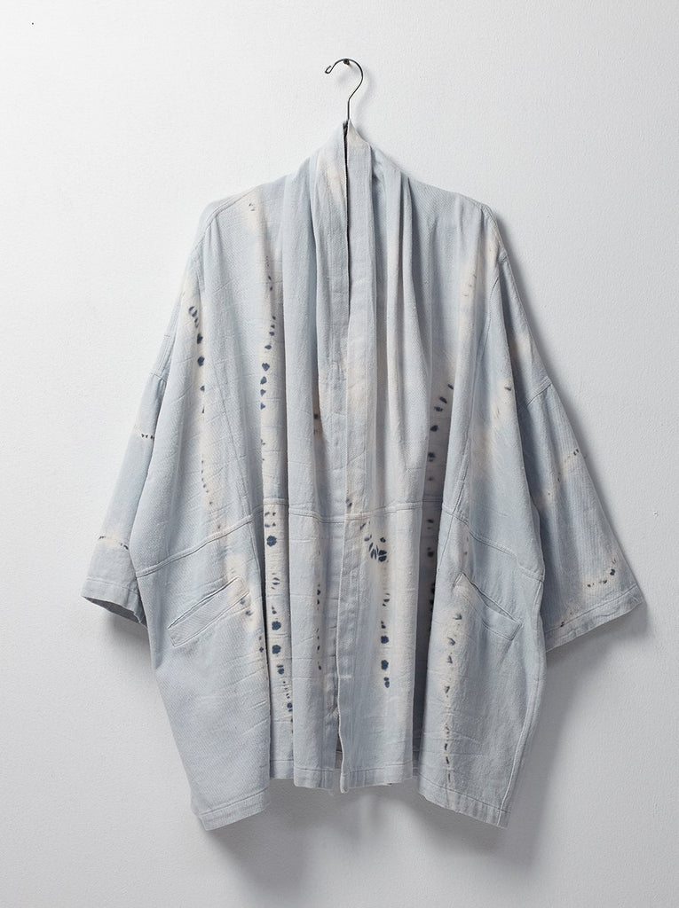 Hoari Coat Ice Wash Tie Dye