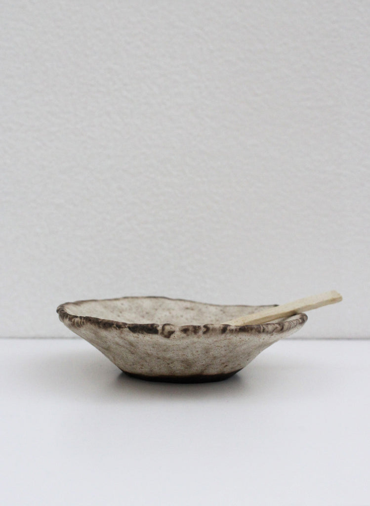 Small Dish and Spoon