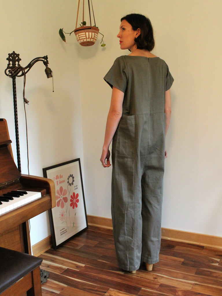 Shino Coverall Peat