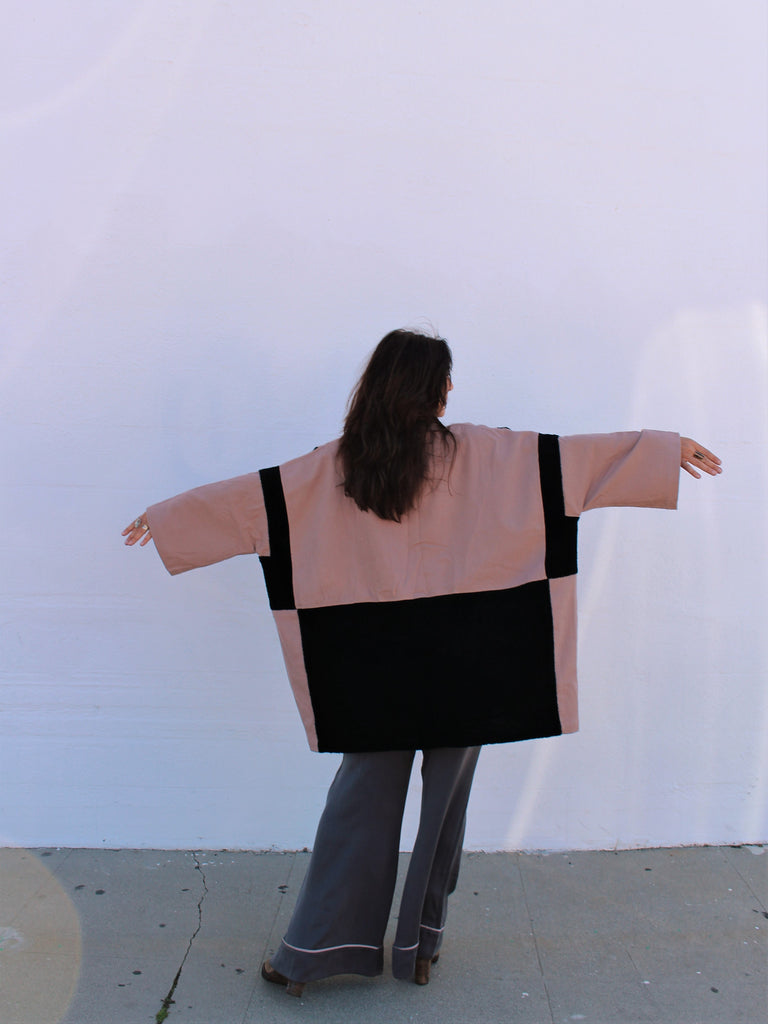 Haori Coat Patchwork BOA