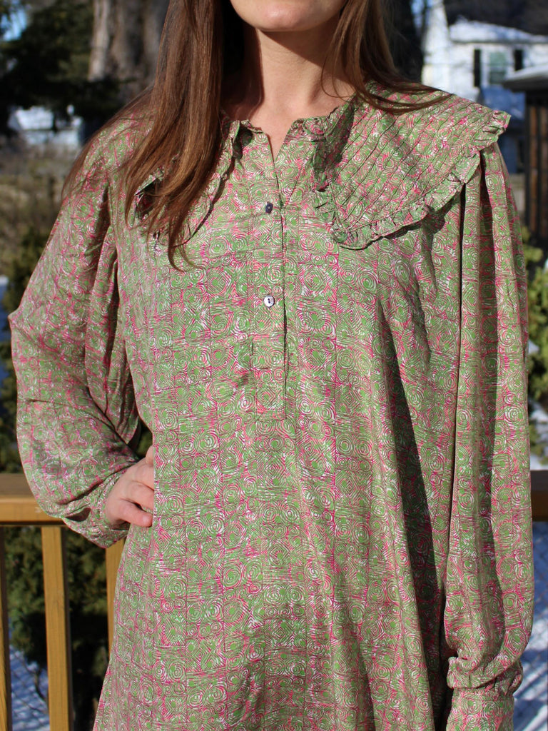 Isabel Dress Light Green