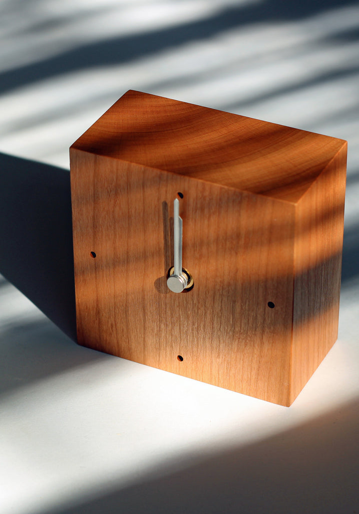 Wooden Square Clock