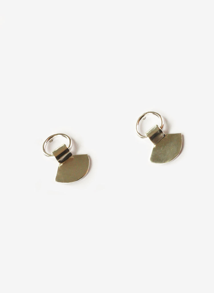 Rachel Gunnard Silver Fan Earrings