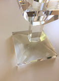 Oleg Cassini Crystal Candle Holder