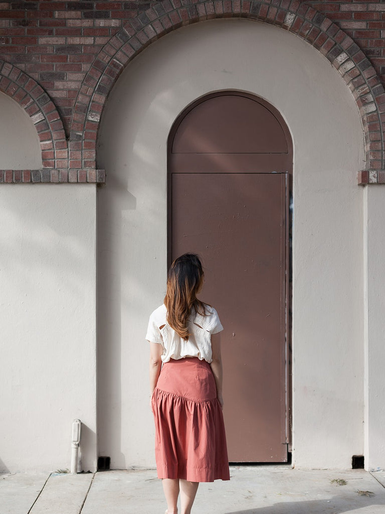 Bordeaux Cecilia Skirt