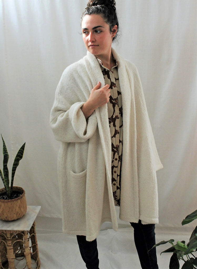 Alpaca Haori Coat Deer
