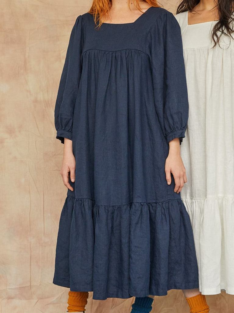 Big Sur Dress Navy