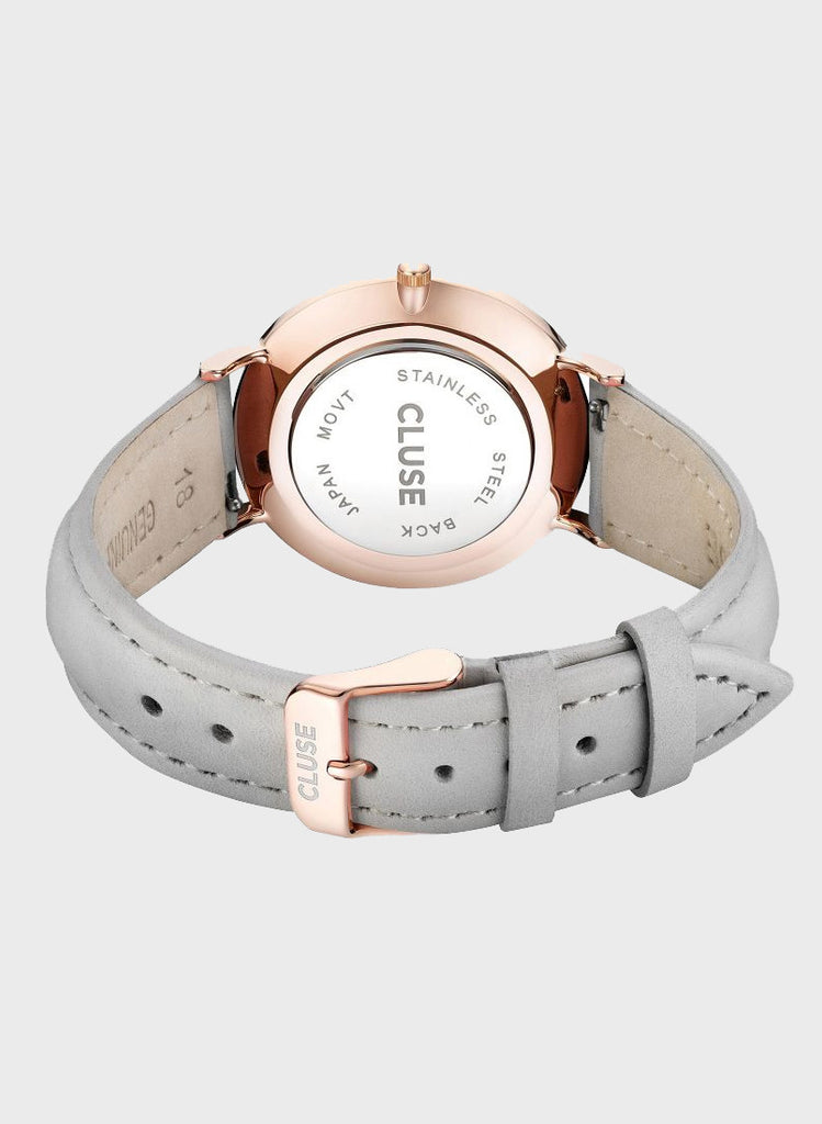 La Boheme Rose Gold Watch Grey
