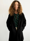 Verde Sweatercoat Noir