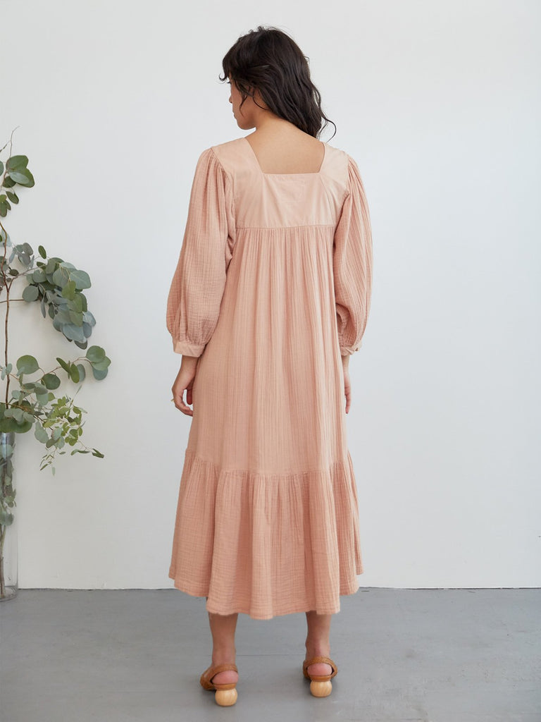 Nepenthe Dress Salmon