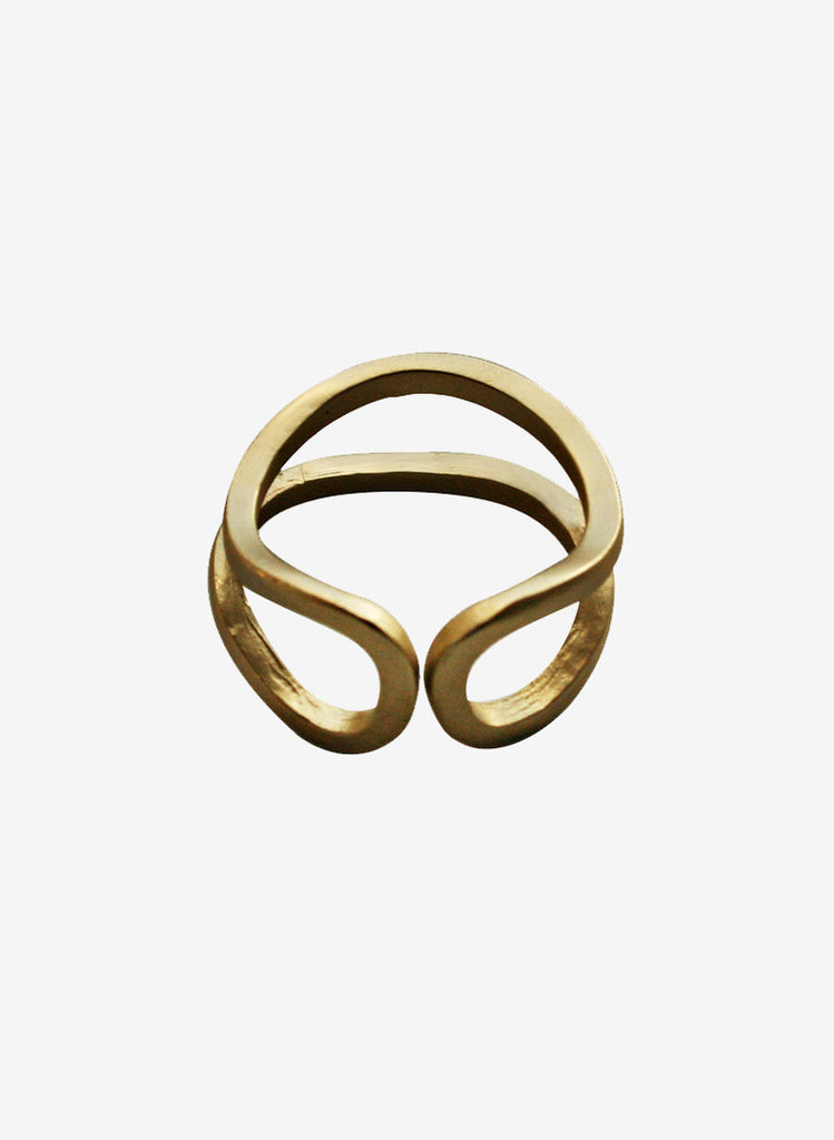 Laura Lombardi Brass Este Ring
