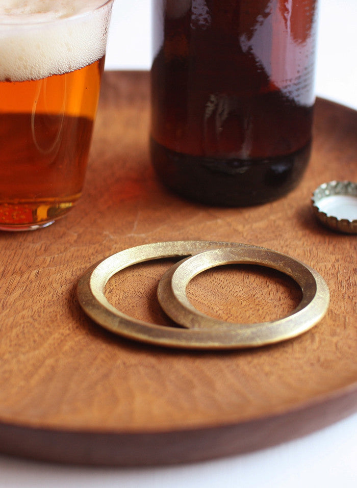Eclipse Brass Bottle Opener