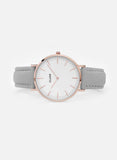 Cluse Rose Gold Grey Watch