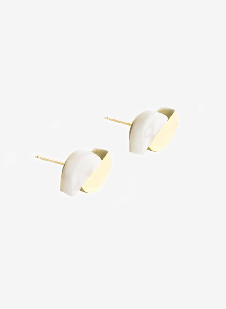 Concave Earrings Whitesque