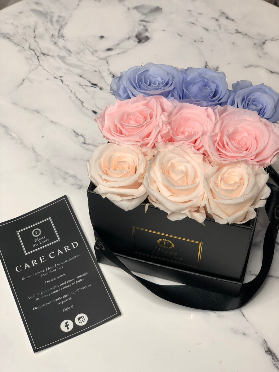 luxury gift of roses that last all year