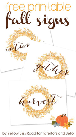 wheat, fall, signs, download, printable, print, DIY