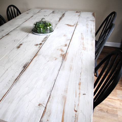finished table, love, gorgeous, galvanized cloche, farm, farmhouse, house