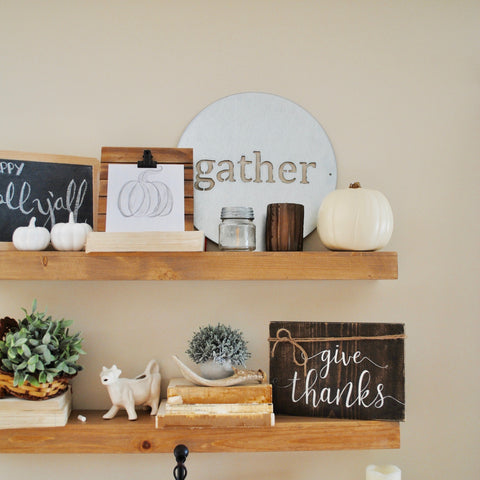 gather, vintage sign co, 12 days of christmas giveaway, fixer upper, sugar and succulents, farmhouse