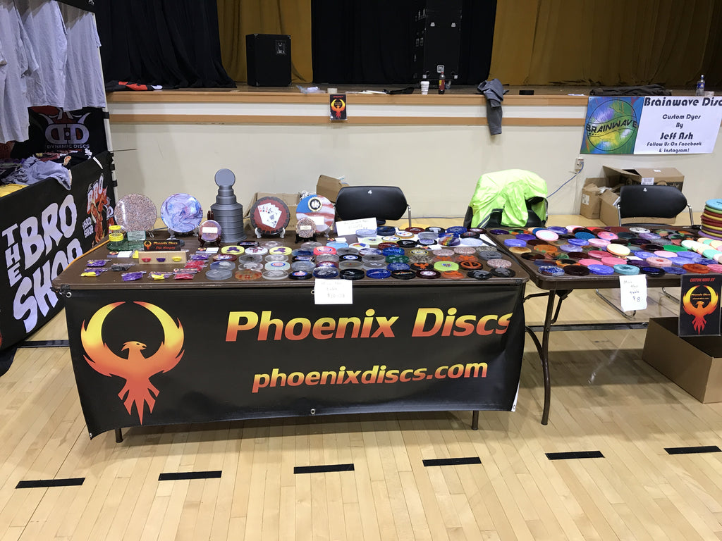Phoenix Discs at the 2017 GBO Flymart!