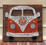 Bus String Art