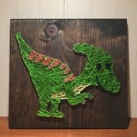 Dinosaur String Art