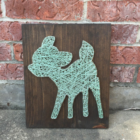 Bambi String Art