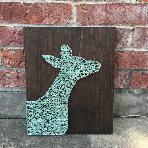 Doe String Art