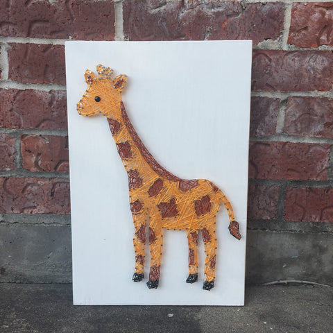Giraffe String Art