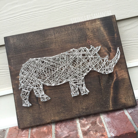 Rhino String Art